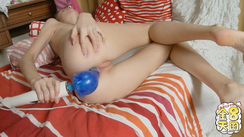 Kin8tengoku 0392 電マをラブリンコの私はよく女子アナって言われてます/現役女子高生が見せる最近の性生活。やっぱりアナルはお好きみたい・・ / ザニー kin8tengoku