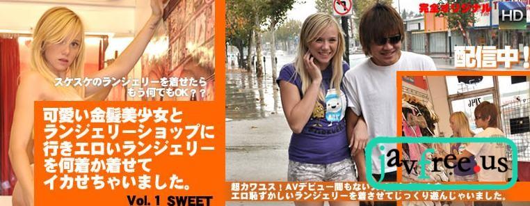 金髪天国0527 可愛い金髪美少女とランジェリーショップに行きエロいランジェリーを何着か着させてイカせちゃいました / スイート 金髪天国 kin8tengoku