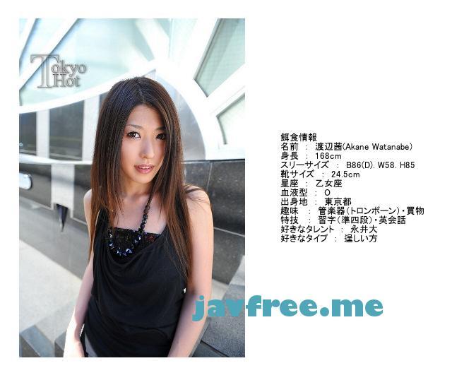Tokyo Hot n0473 長身綺麗系凹輪姦重篤汁 渡辺茜 渡辺茜 Tokyo Hot