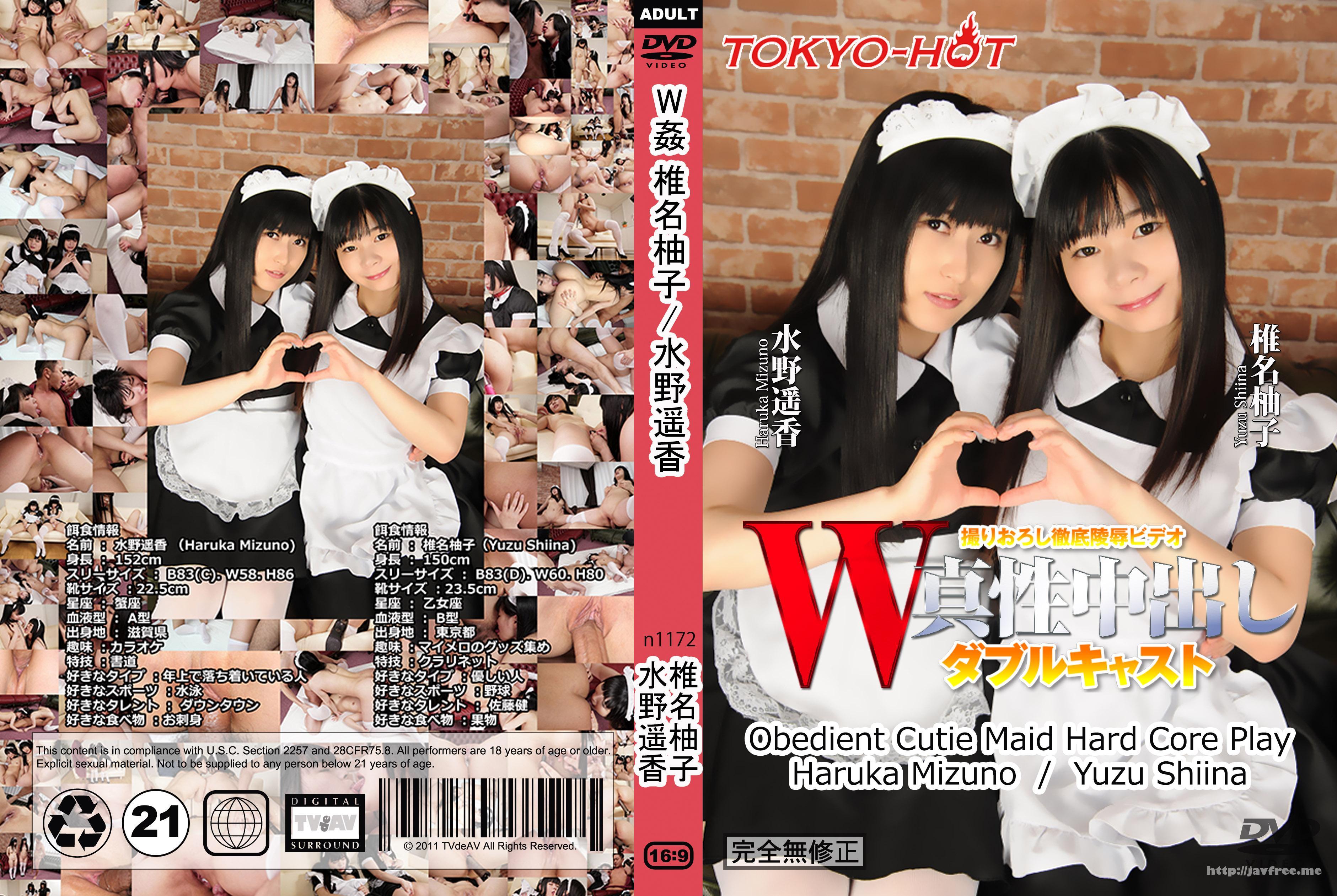 Tokyo Hot n1172 W姦