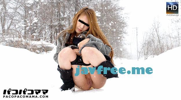 pacopacomama 041213 881 北の国から ~雪景色の中で野外露出 車田留美子 pacopacomama