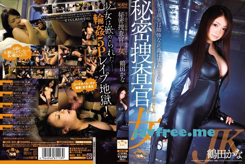 [SOE 801]秘密捜査官の女 女子校生は陰惨な正義に強姦される 鶴田かな 鶴田かな SOE