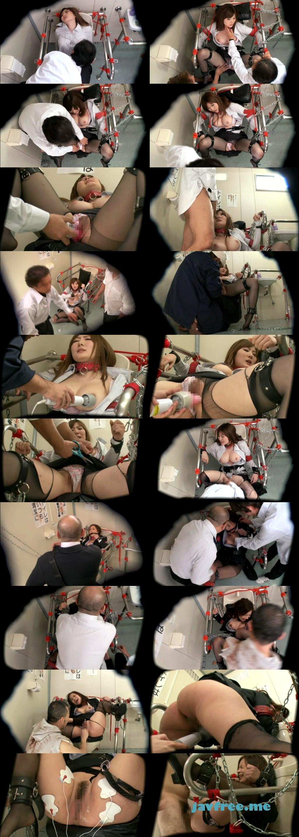 [SVDVD 278] 拷問 女教師中出し拘束肉便器 仁科百華 RISA 仁科百華 SVDVD risa