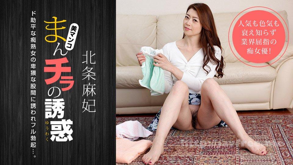 一本道 010219_001 まんチラの誘惑 〜熟成された女のカラダ〜