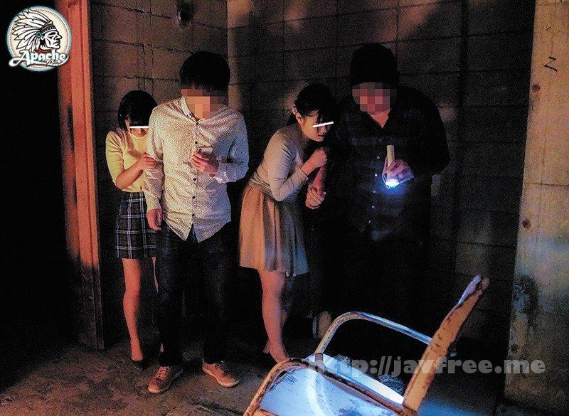 [HD][AP-674] 廃墟肝試し女子大生暗闇追いかけ回し痴漢