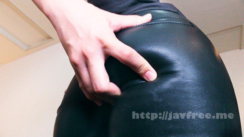 [HD][ARM-833] 黒レザーパンツで白いザーメン搾り尽くす至極の腿こき2