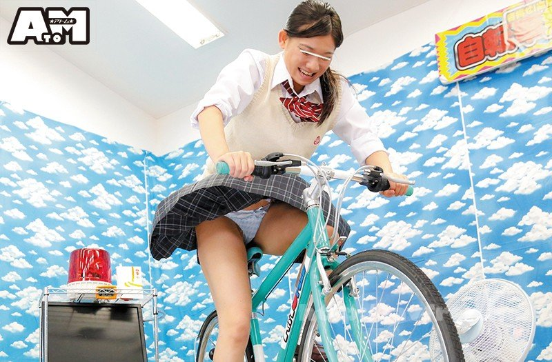 [HD][ATOM-309] パンチラ連発!素人限定!発電自転車ゲーム - image ATOM-309-11 on https://javfree.me