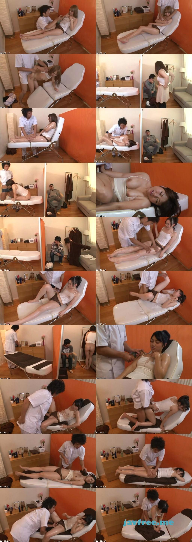 [ATOM-125] 男性エステティシャンのオイルマッサージでうっかりイってしまう超敏感娘は、彼氏がすぐ横にいるにも関わらずバレないようにコソコソエッチをしたがる! - image ATOM125 on https://javfree.me