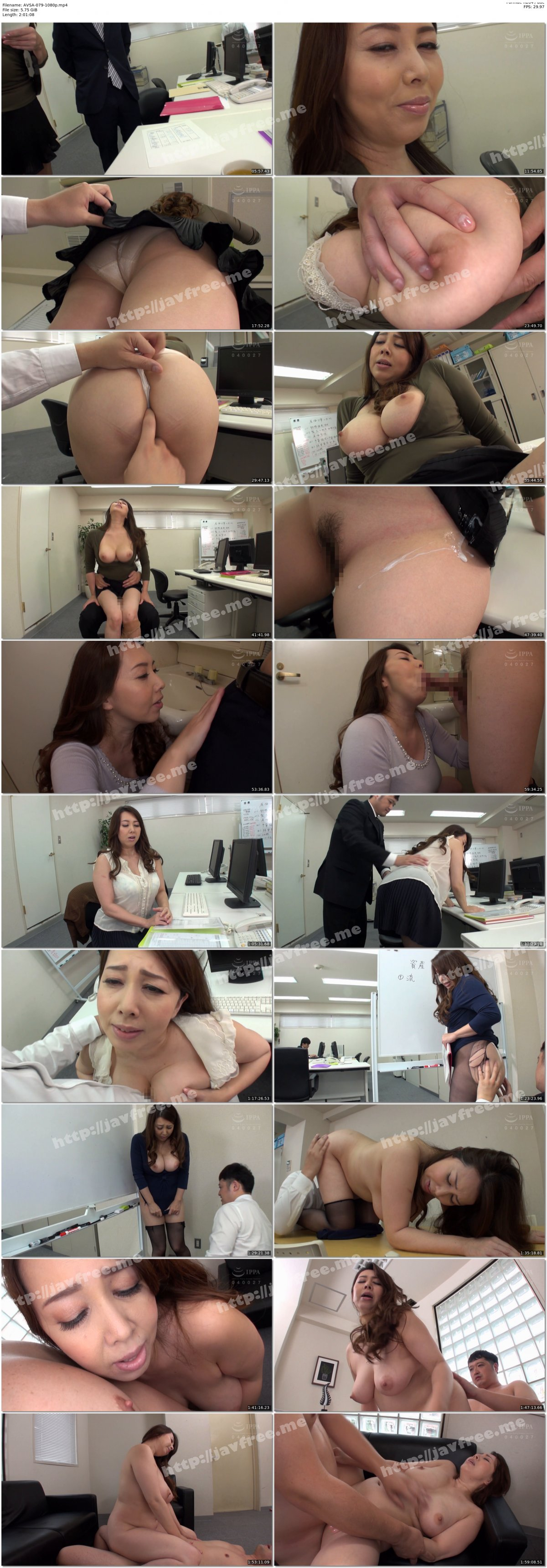 [HD][AVSA-079] 屈辱セクハラNTRドラマ 美しい部下の彼女 ~婚期を逃した豊満な女体~ - image AVSA-079-1080p on https://javfree.me