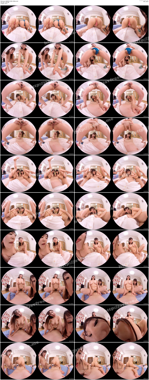 [HD][BIKMVR-038] 【VR】ハイパーバイノーラル むっちり巨乳お姉さんが高密着濃厚中出し痴女ハーレムSEX 両耳でささやき誘惑する 浜崎真緒・若月みいな【リアル映像】 - image BIKMVR-038b-1080p on https://javfree.me