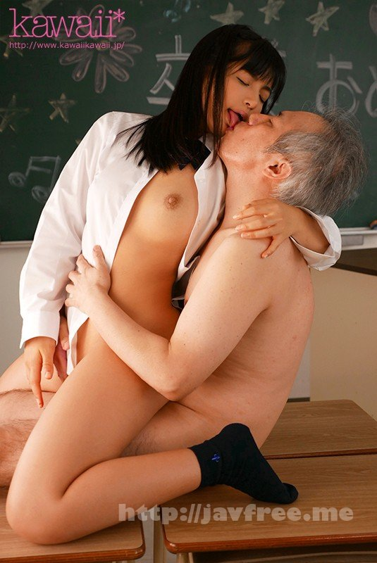 [HD][CAWD-048] 定年を控えた老いぼれ教師と孤独なおじさんに惹かれる女生徒との性日記。 無邪気な笑みと腰が砕けるほどの濃厚接吻誘惑…教え子に主導権を握られ痴女られる禁断の教淫生活 根尾あかり