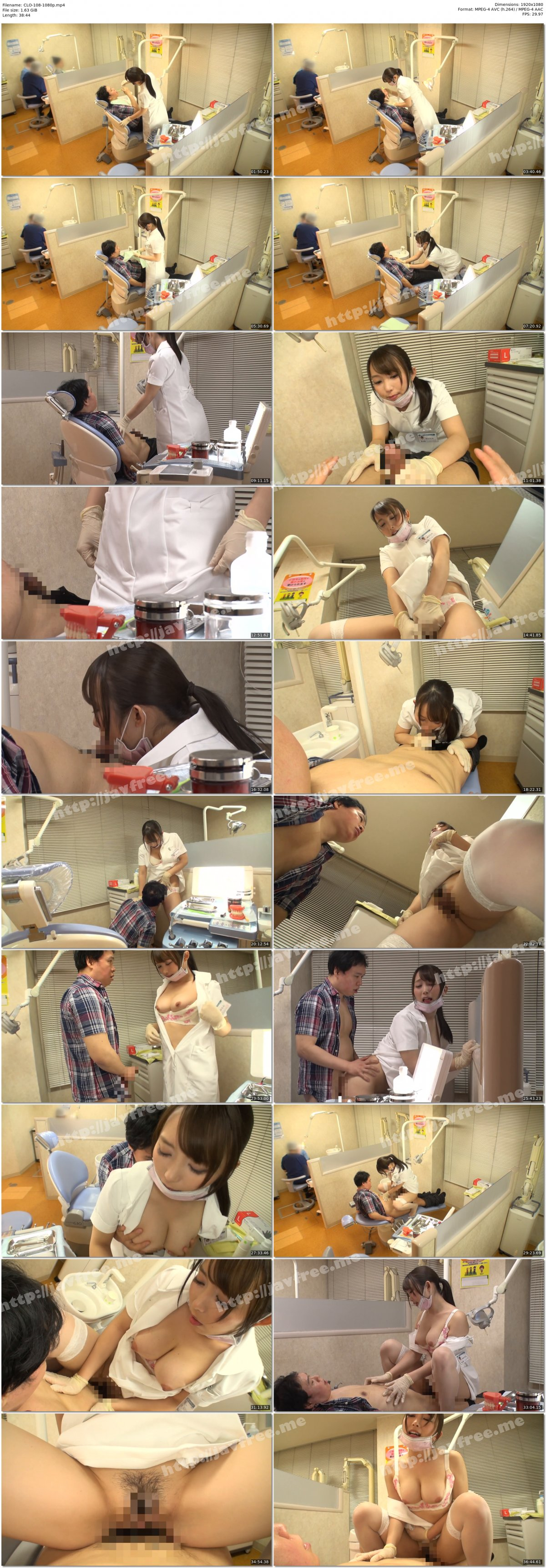 [HD][CLO-108] やたらと目があう歯医者さん 桐谷なお - image CLO-108-1080p on https://javfree.me