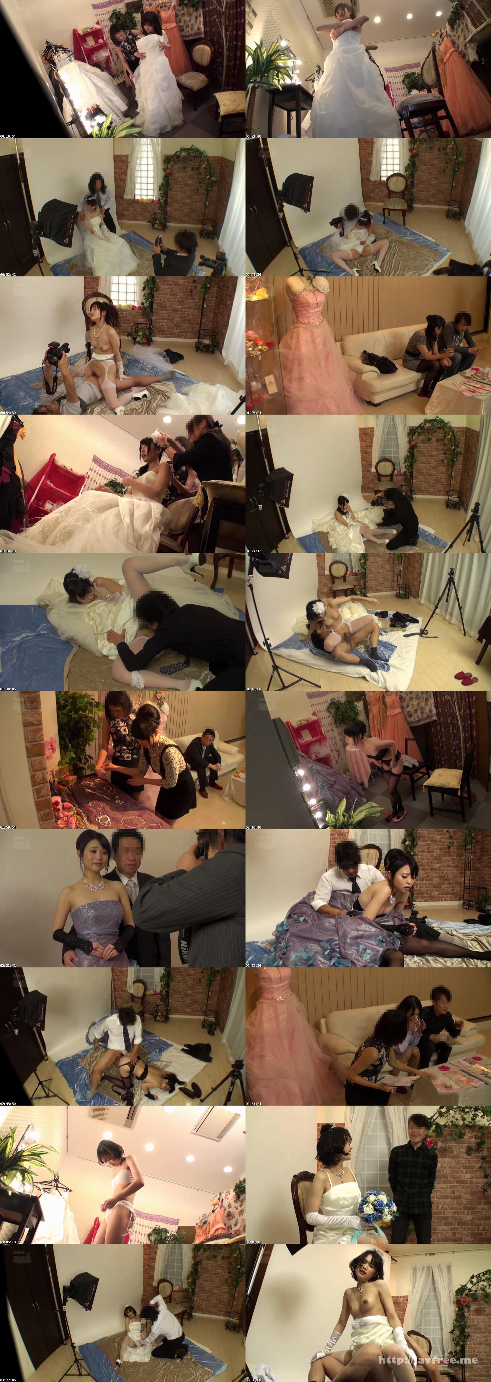 [CLUB-181] 結婚式前に写真スタジオで撮影するカップルの新郎が待つ隣で新婦を寝取りレイプ4 - image  on https://javfree.me