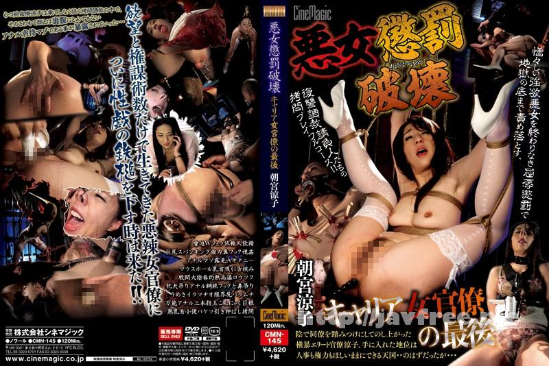 [CMN 145] 悪女懲罰破壊 キャリア女官僚の最後 朝宮涼子 朝宮涼子 cmn