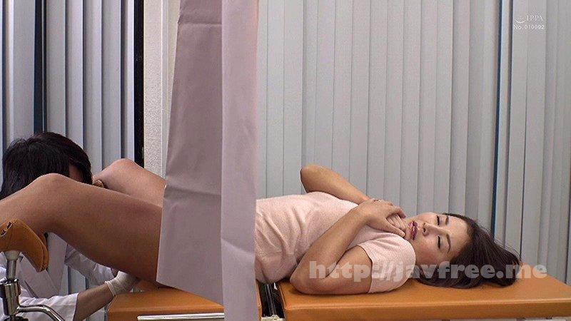 [DANDY-595] 「妊娠検査と称して膣奥を触診され断れず声を我慢しながら全身を震わせ潮を漏らす敏感妻」VOL.1