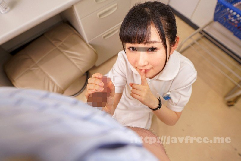 [HD][DANDY-618] 「採精室で巨根患者と2人きり!僕のチ○ポに興味津々の美少女看護師は精液検査で射精(手コキ/フェラ/SEX)のお手伝いも拒まない」完全主観Ver. - image DANDY-618-16 on https://javfree.me