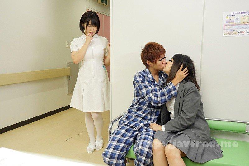 [HD][DANDY-645] 「看護師さんに惚れられ過ぎて彼女がそばにいるのにコソコソ誘惑(胸チラ/尻見せ/超密着)されてヤられた」VOL.1 - image DANDY-645-2 on https://javfree.me