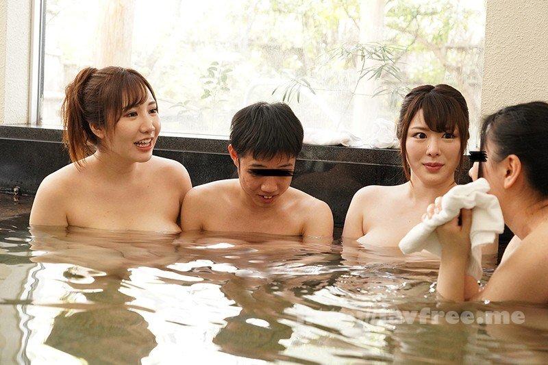 [HD][DANDY-719] 混浴温泉で母親の巨乳ママ友二人に挟まれておもちゃにされた僕