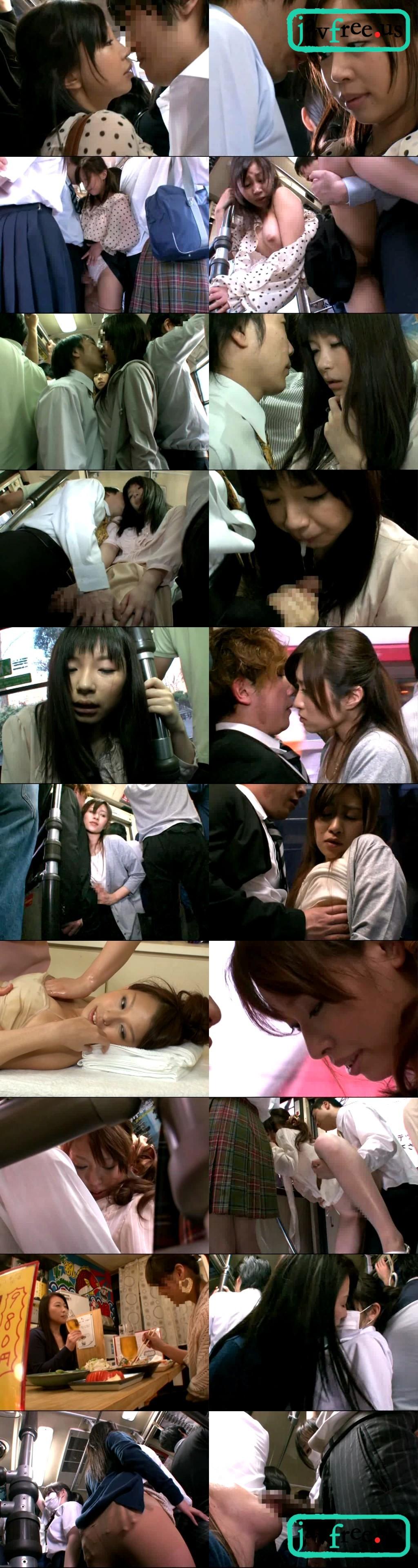 [DANDY 238] 「キスまで3cm 日曜日の恋人のいない美淑女に満員状態で息がかかるほど密着したらヤられた」 VOL.3 DANDY