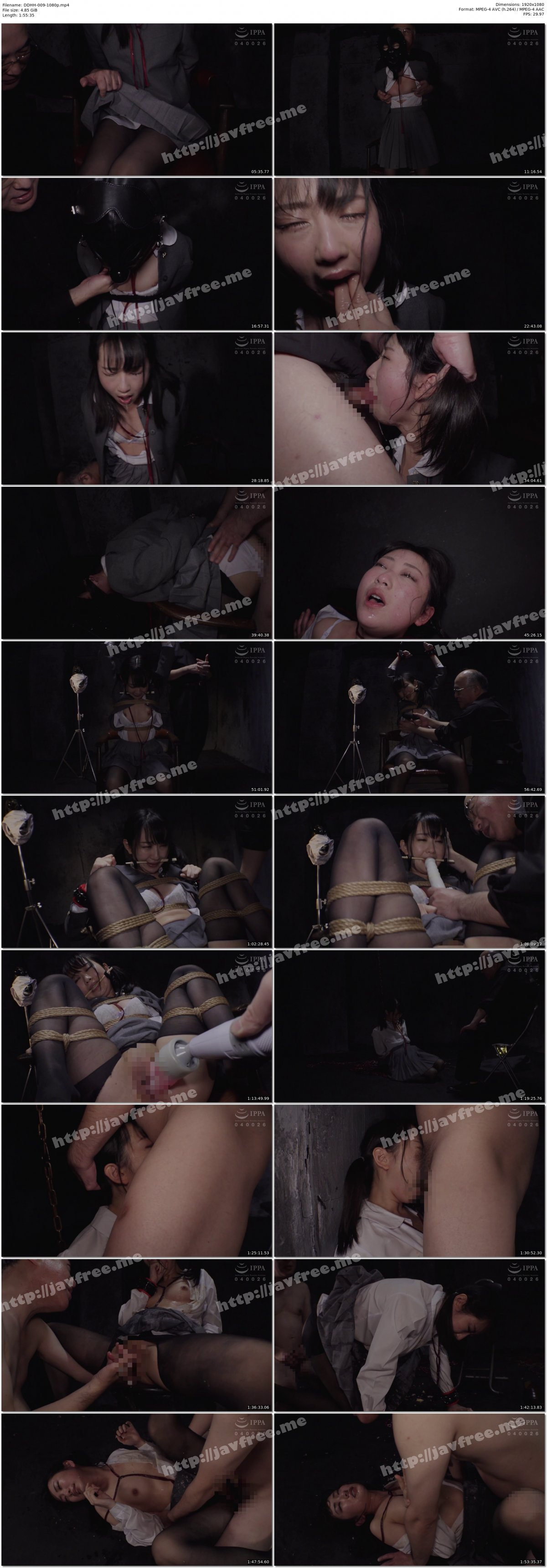 [HD][DDHH-009] 監禁~男の性奴●になった私~ 神坂ひなの