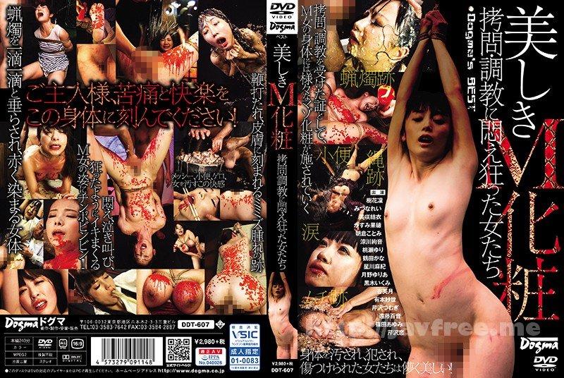 [DDT-607] 美しきM化粧 拷問・調教に悶え狂った女たち - image DDT-607 on https://javfree.me