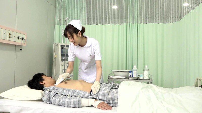 [HD][DOCP-222] 「あぁっ!乳首溶けちゃうって!」乳首が敏感すぎる入院患者を不憫に思ったのかスケベに思ったのかすんごい乳首責め騎乗位で中出しさせてくれる連続膣搾り美人ナース!