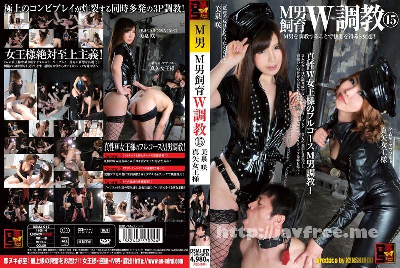 [DSMJ-017] M男飼育W調教 15 - image DSMJ-017 on https://javfree.me