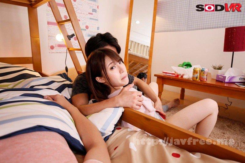 [DSVR-330] 【VR】VR長尺 2段ベッドの上で寝ているイケメンな弟の彼女が真夜中に僕の布団に入ってきて…ベッドが軋まないようにゆ~っくり腰をくねらせながら耳元で淫語を囁かれるこっそり寝取り中出しセックス2 - image DSVR-330-3 on https://javfree.me