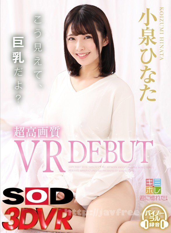 [HD][DSVR-366] 【VR】小泉ひなた 超高画質 VR DEBUT - image DSVR-366-1 on https://javfree.me