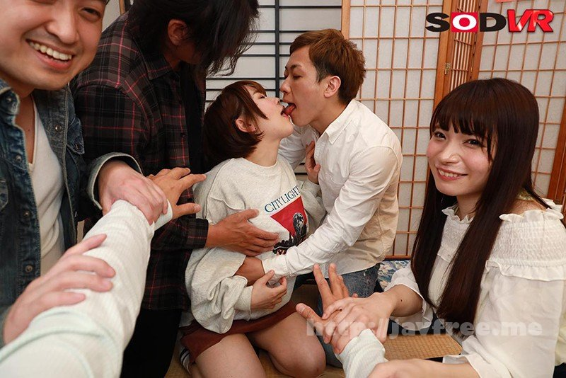 [DSVR-724] 【VR】サークル伝統の新姦コンパに参加したら、新入生の僕は先輩達に流されるまま、女友達をレ○プしてしまった。