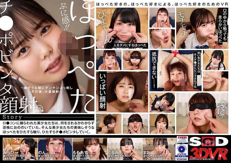 [DSVR-876] 【VR】ぷに感!!ほっぺたチ●ポビンタ顔射!~嫌そうな顔にチンチンぶっ刺しその後、大量顔射~ - image DSVR-876 on https://javfree.me