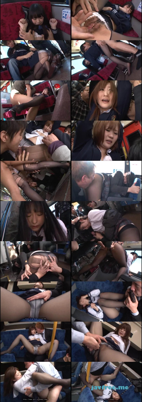 [DVDES-523] 女子校生黒パンストいじめバス 成長途中のムチムチ生脚と桃尻をタイトに包み込み、こびり付いたマン臭が車内中に匂い立つ - image DVDES523 on https://javfree.me