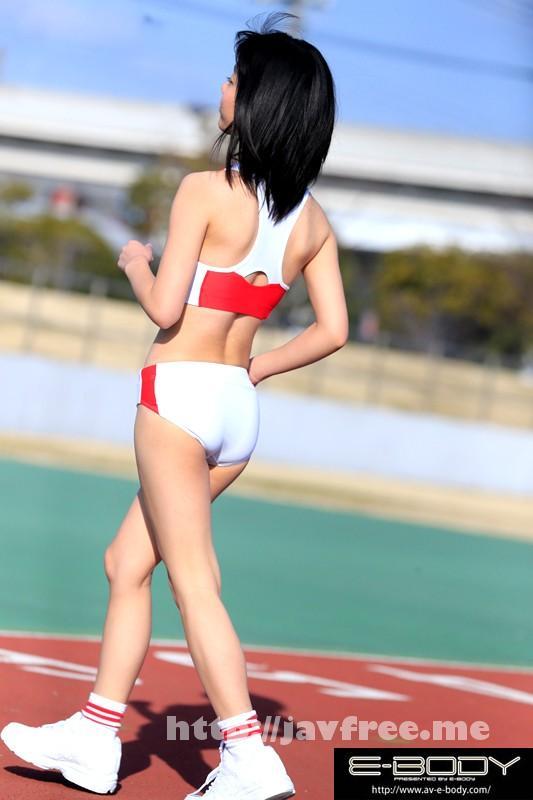 [EBOD 447] 陸上競技歴12年 鍛え抜かれたスレンダーボディは驚異のウエスト54cm!!現役女子大生アスリートAVデビュー 川嶋明香莉21歳 EBOD