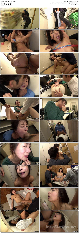 [EQ-450] 主婦達が働くパート先に忍び込み、逃げ惑う美熟女を犯しまくった!! - image EQ-450 on https://javfree.me
