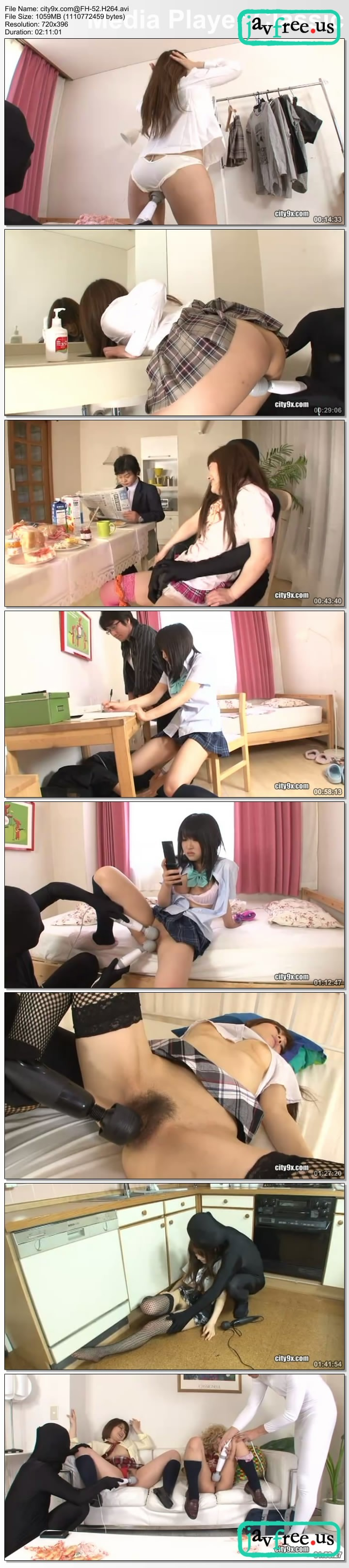 [FH-52] School Girls Everyday Non - Stop Vibrator Life - image FH-52a on https://javfree.me