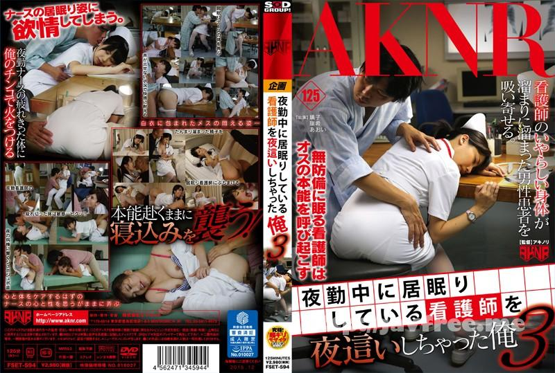 [FSET-594] 夜勤中に居眠りしている看護師を夜這いしちゃった俺 3 - image FSET-594 on https://javfree.me