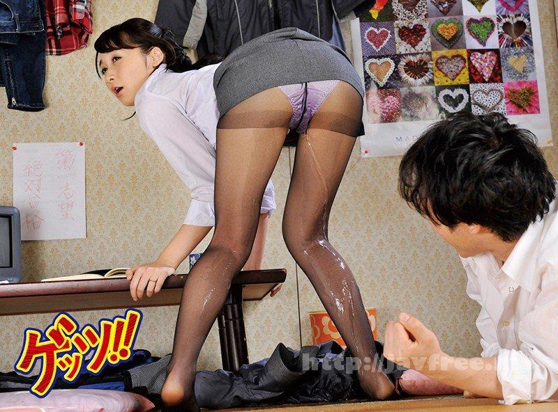 [GETS-073] 美脚パンスト先生4名大失禁!!家庭訪問中にお漏らししちゃったエロすぎパンスト女教師と黒スト着衣SEX