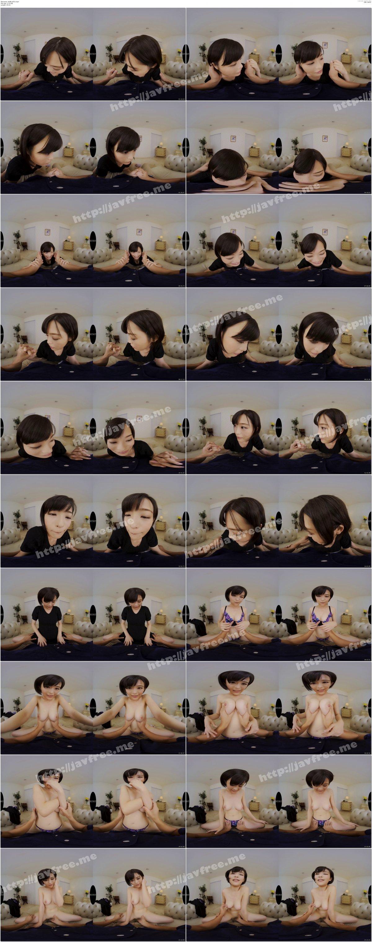 [GOPJ-197] 【VR】劇的高画質 神美乳 Hカップ 見つめ合いイチャイチャSEX 絶頂11回! 風野のん - image GOPJ-197a on https://javfree.me