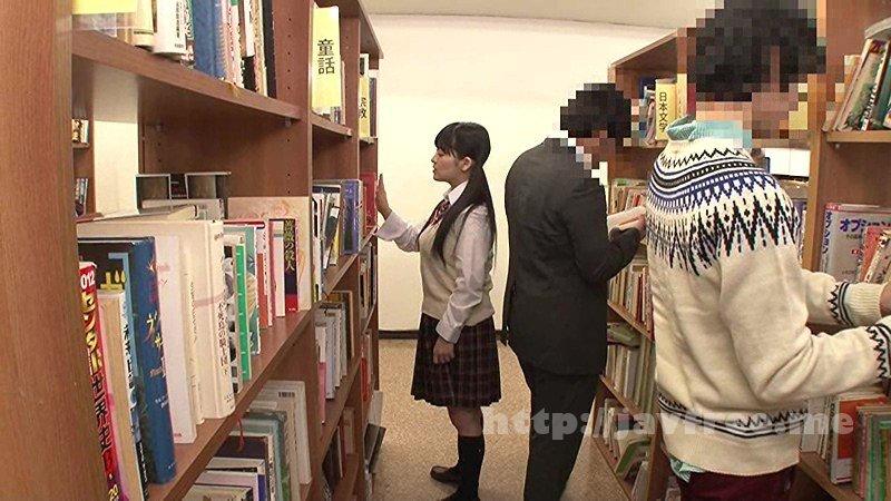[HD][GS-113] 図書館の本棚にエロ本を置き、それを手に取った女子校生の反応を見て楽しんでいたら…なんと過敏に反応し、その場でモジモジ!?さらにボクと目が合うなり息荒く近付いてきて体を擦りつけてきた!そんな声が出せない状況にソソラれて図書館でまさかの合意痴漢プレイ!?