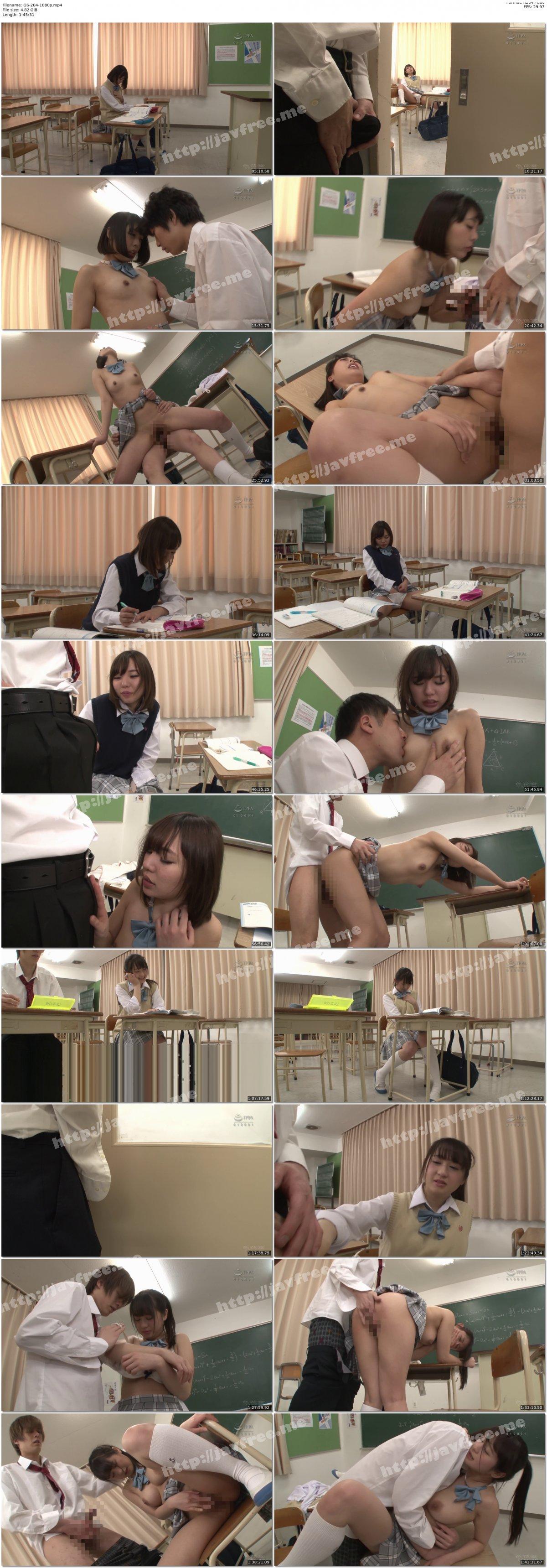 [HD][GS-204] 放課後2人だけで居残り勉強をしている僕とクラスの女子。用事があって一旦教室を離れ戻ってきたら…勉強ばかりで欲求不満な女子がオナニー中!?バレないように覗いていたら…ソソられ勃起してしまい僕も思わずオナニー! - image GS-204-1080p on https://javfree.me