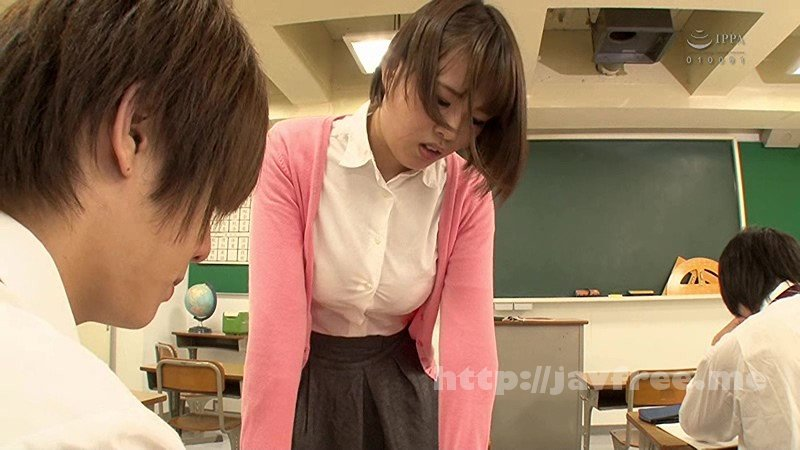 [HD][GS-233] ブラウスが裂けそうなほどのセクシー巨乳で男子生徒たちに超人気のソソる女教師!怒られてもイイから揉み倒したい!!やけくそでブラウス巨乳を後ろからガッツリ鷲掴み!ボタンが吹き飛ぶほどに激しく揉みまくると…怒るどころか腰砕けて感じ始めた!? - image GS-233-1 on https://javfree.me