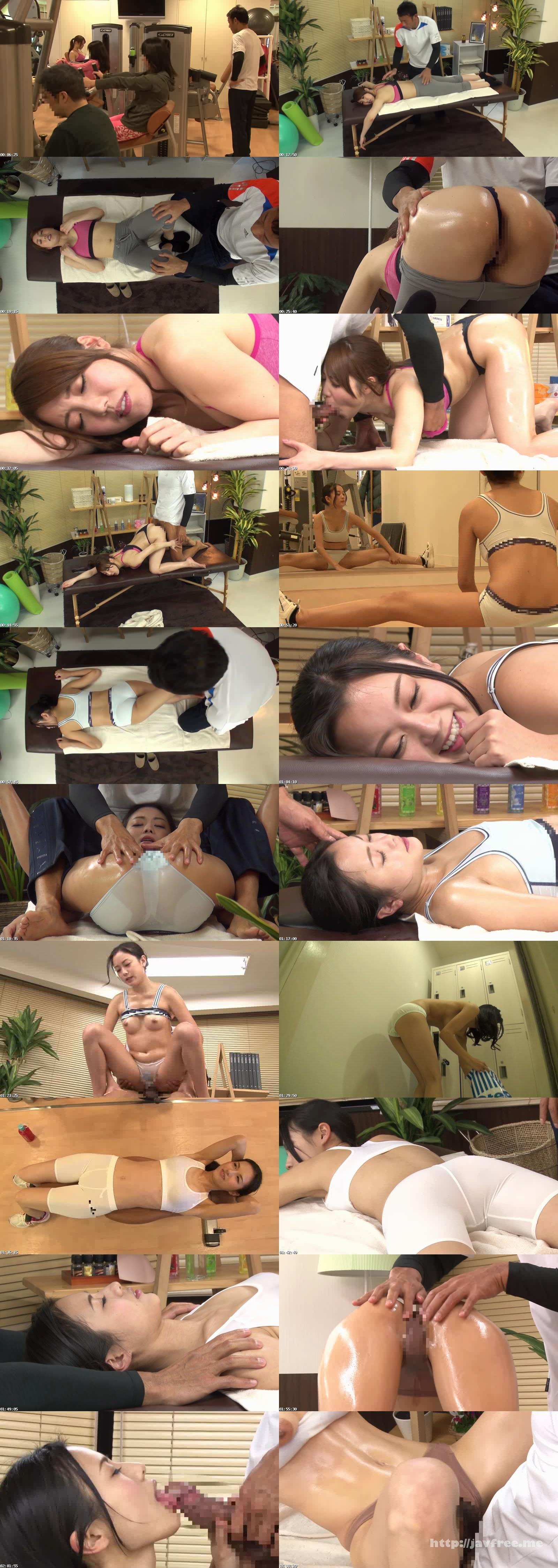 [HAR-006] ジムで鍛え抜かれ引き締まった筋肉BODYに興奮され、マッサージルームでオイルエステに悶え感じさせられる女たち - image HAR-006 on https://javfree.me