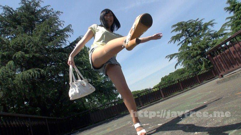 [HD][HARU-047] 黒髪美脚ギャルのパンスト透けマ●コにフル勃起!!