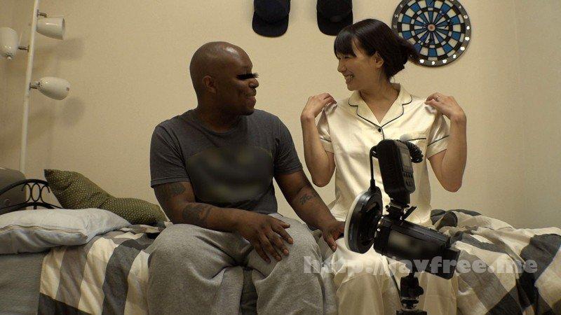 [HD][HAWA-149] 素人妻が一般黒人留学生の自宅にコンドームを1つ渡され一泊 今度こそゴム姦で帰るはずが黒いデカチンが気持ちよすぎて結局中出しを許してしまうスケベ妻 あいさん34歳 - image HAWA-149-10 on https://javfree.me