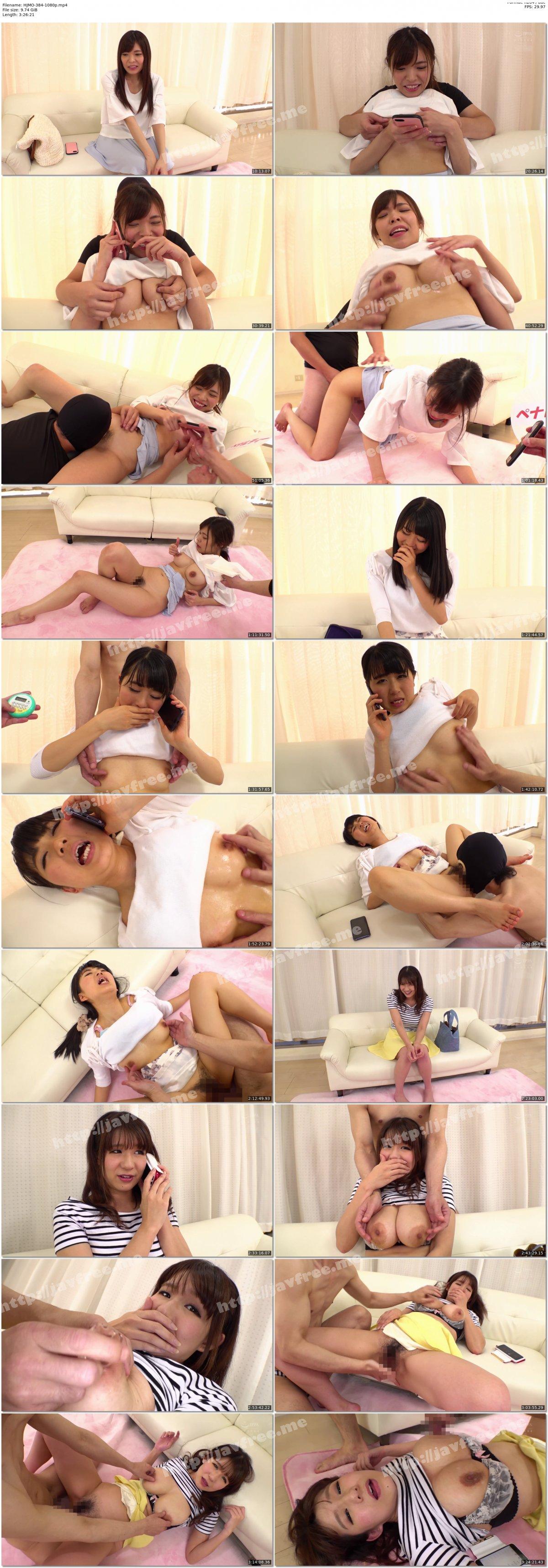[HD][HJMO-384] 寝取られTELショッキング 彼氏と電話中ず~っと乳首責め耐えたら賞金30万バレたら乳首コリコリSEX3