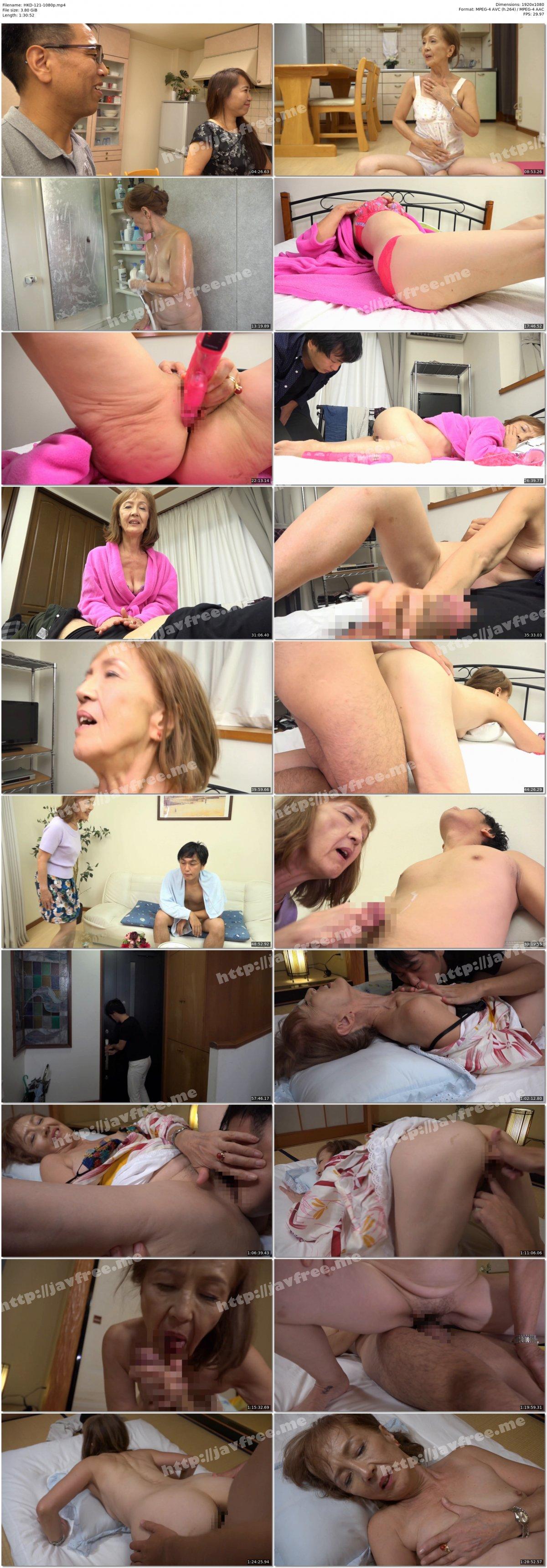 [HD][HKD-121] 孫の身体の虜になりました 浅野多恵子