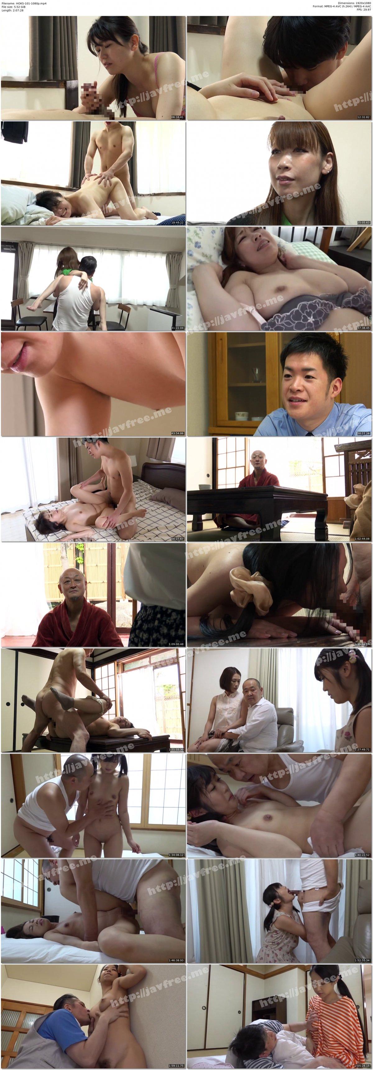 [HD][HOKS-101] 主婦売春 堕ちた四十路妻 - image HOKS-101-1080p on https://javfree.me