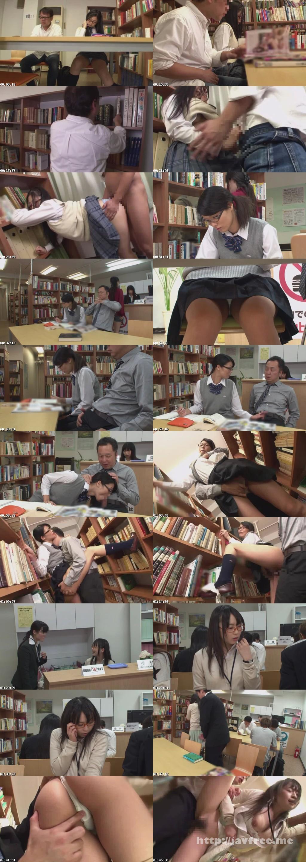 [HUNT-719] 図書館で真面目にお勉強しているメガネをかけた清純女子校生の横で、エロ本を読んでいたら思わず勃起! それに気付いた女子校生が勉強そっちのけで僕のチ○ポに興味津々! - image HUNT-719b on https://javfree.me