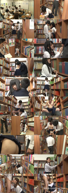 HUNT-798  放課後に何もすることがないので学校の図書室に行ってみたら、本の整理を行う清楚でマジメ図書委員女子の無防備な純白パンチラを見てしまった! 目をそらそうと思ってもパンツに釘付けなボクは、思わず勃起…。 HUNT