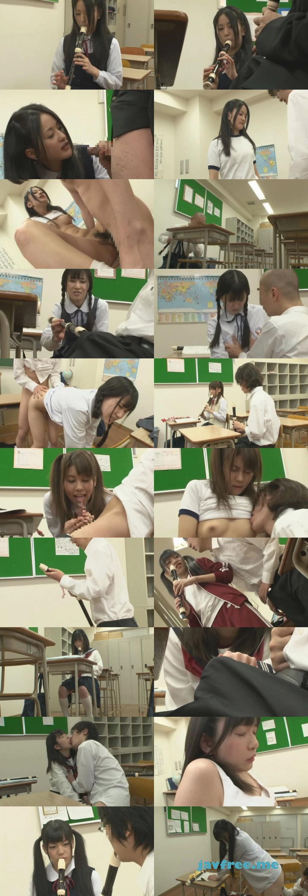 [HUNT-549] 放課後の教室で好きな女子のリコーダーをこっそり僕のリコーダーと交換して[間接キス]を楽しんでいたら、まさかの本人登場!なぜか一緒に練習するハメに…。でもボクが吹いているのは彼女のリコーダー。そして彼女が吹いているのは僕のリコーダー。 - image HUNT549 on https://javfree.me